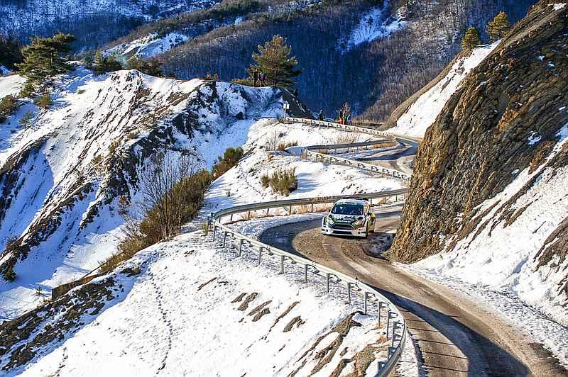 Henk Vossen & Sander van Barschot - Ford Fiesta R5 - Rally van Monte Carlo 2017