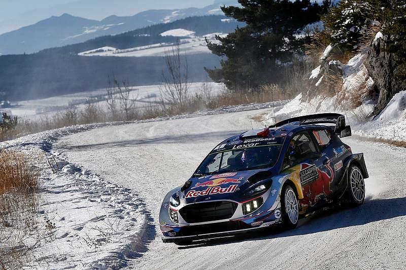 Sebastien Ogier - Ford Fiesta WRC - Rally Monte Carlo