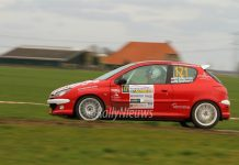 Wim Stevens & Wesley Stevens - Peugeot 206 RC - Zuiderzeeshortrally 2017