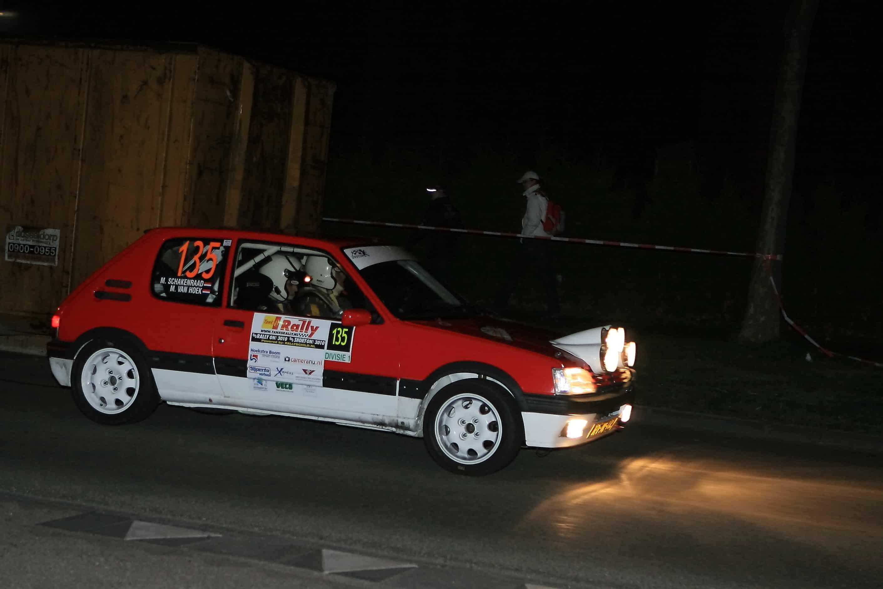 Martijn van Hoek - Peugeot 205GTi - TankS Short Rally 2011