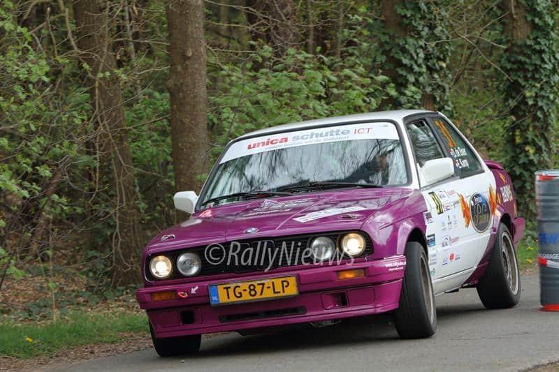 Dirk de Boer & Egbert Kamp - BMW 325i - Centraal Nederland Rally 2017