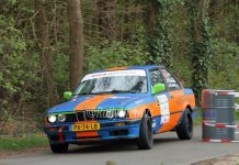 Peter Smets & Nick Versters - BMW 325i - Centraal Nederland Rally 2017