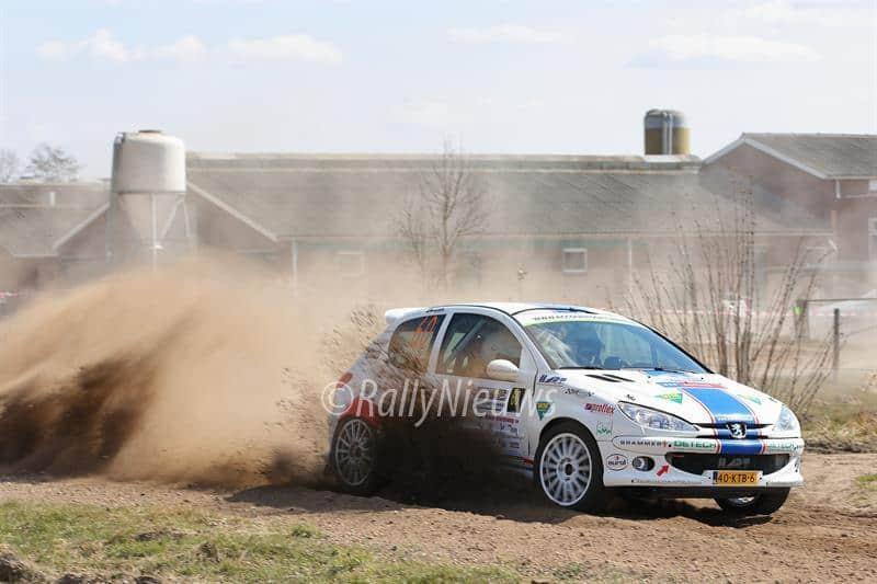 Bart Geerdink & Bart Stax - Peugeot 206 Kitcar - OVD Groep Ede Rally 2013