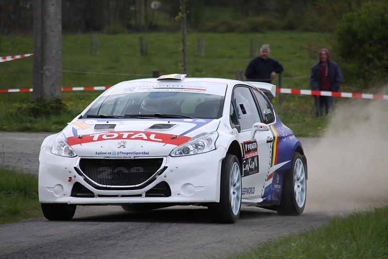 Kevin Abbring - Peugeot 208 T16 - Rallye de Wallonië 2017