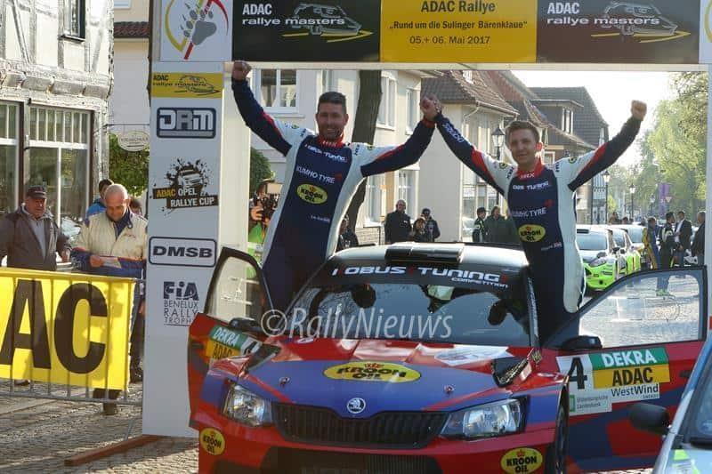 Hermen Kobus & Erik de Wild - Skoda Fabia R5 - Rallye Sulingen 2017
