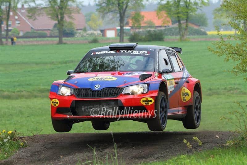 Hermen Kobus & Erik de Wild - Skoda Fabia R5 - ADAC Rallye Sulingen 2017