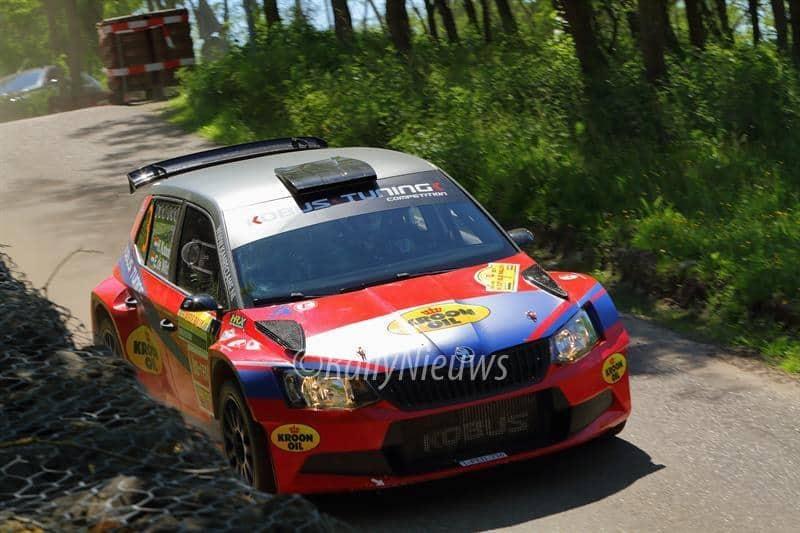 Hermen Kobus & Erik de Wild - Skoda Fabia R5 - ELE Rally 2017