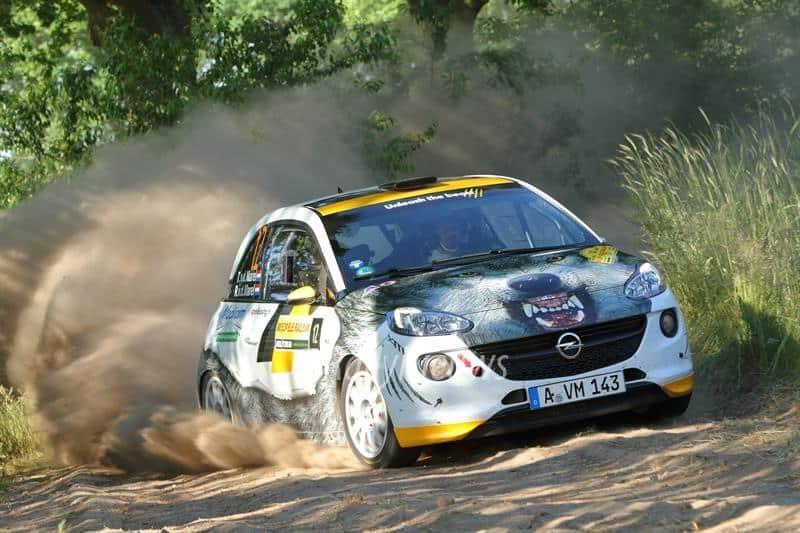 Timo van der Marel & Rebecca van der Marel - Opel Adam R2 - ELE Rally 2017