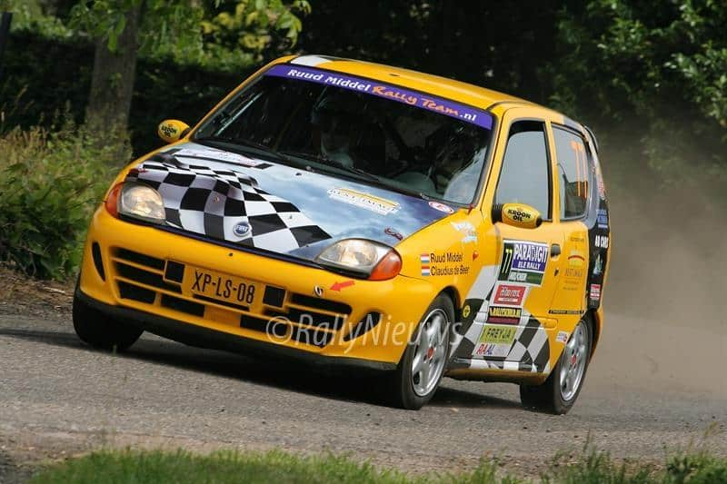 Ruud Middel - Fiat Seicento - ELE Rally 2009