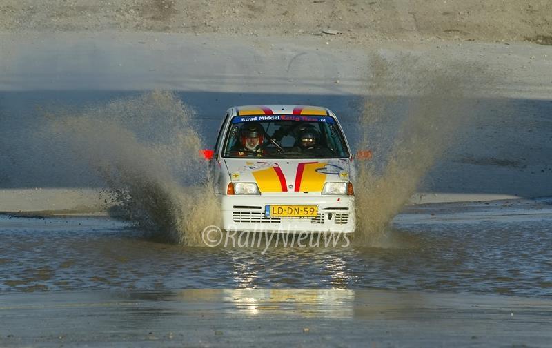 Ruud Middel - Fiat Cinquecento - Almere Rallysprint 2007