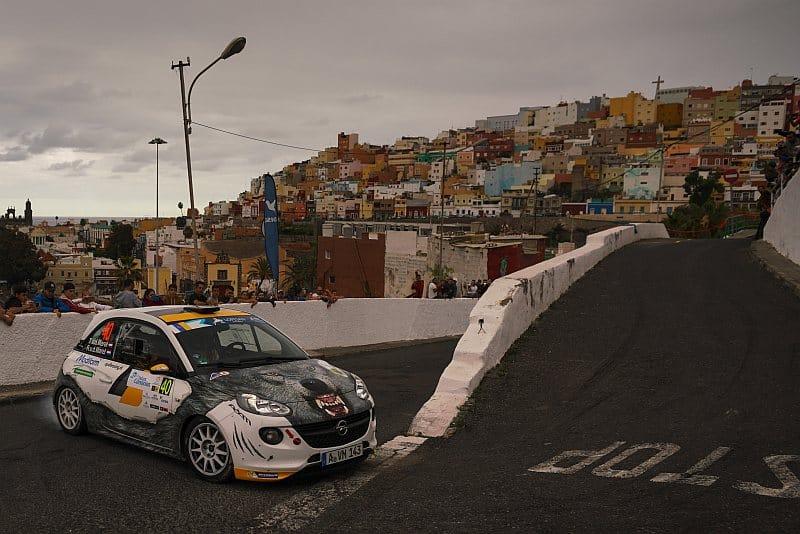 Timo van der Marel & Rebecca van der Marel - Opel Adam R2 - Rally Islas Canarias 2017