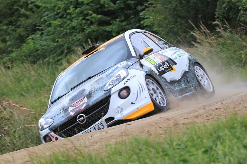 Timo van der Marel & Rebecca van der Marel - Opel Adam R2 - Ypres Rally 2017