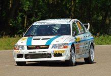 Jeroen van Beugen & Bart Woolderink - Mitsubishi Lancer Evo VII - ELE Rally 2017