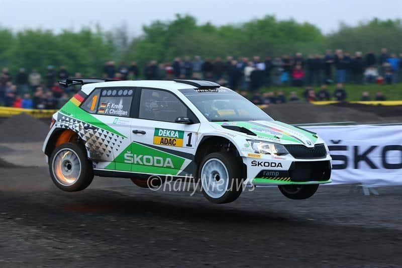 Fabian Kreim & Frank Christian - Skoda Fabia R5 - ADAC Rallye Sulingen 2017