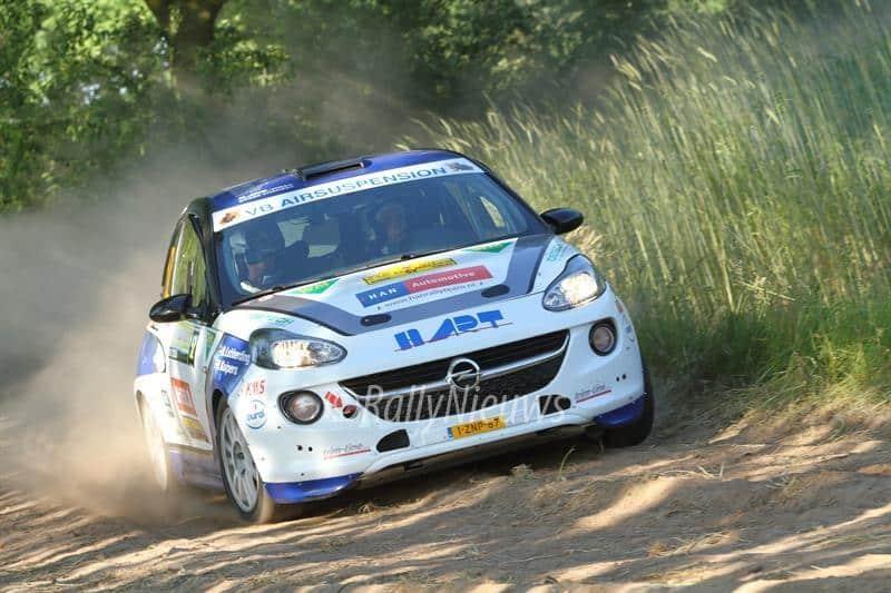 Rick Lubberding & Mark Kuipers - Opel Adam - ELE Rally 2017