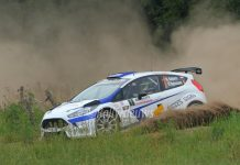 Dennis Kuipers - Robin Buysmans - Ford Fiesta R5 - Vechtdalrally 2015