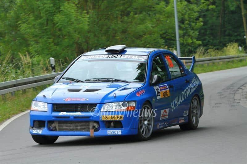 Martin Menzing & Peter van Teunenbroek - Mitsubishi Lancer Evo VII - ADAC Rallye Stemweder Berg 2017