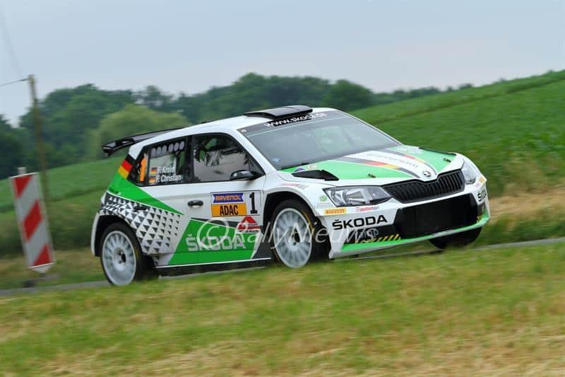 Fabian Kreim & Frank Christian - Skoda Fabia R5 - ADAC Rallye Stemweder Berg
