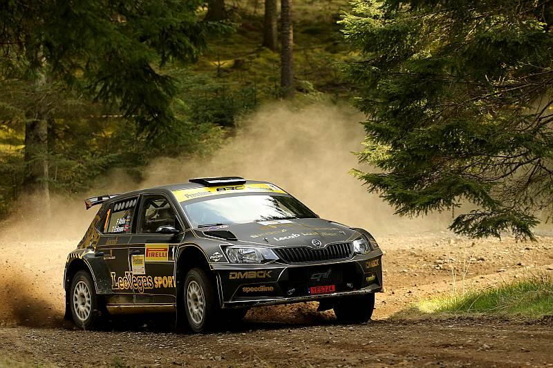 Frederik Ahlin - Skoda Fabia R5 - British Rally Championship