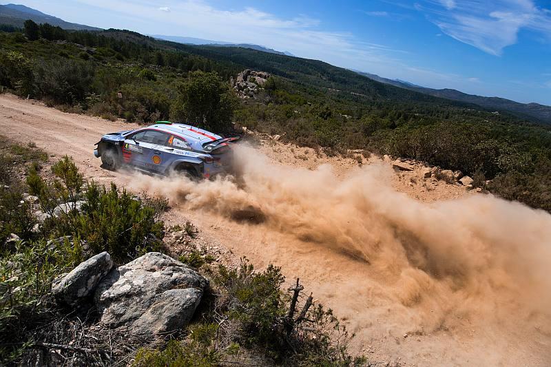 Hayden Paddon & Seb Marshall - Hyundai i20 WRC - Rally van Italie 2017
