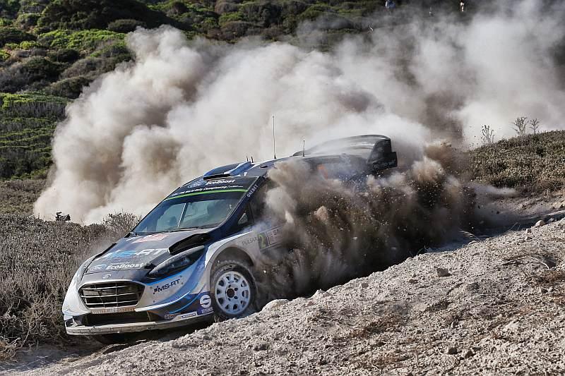 Ott Tänak & Martin Järveoja - Ford Fiesta WRC - Rally van Italie 2017