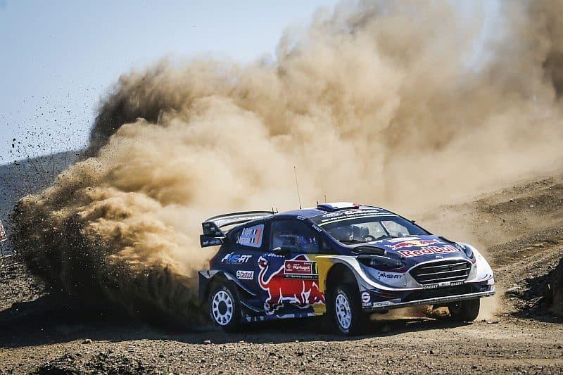 Sébastien Ogier - Ford Fiesta WRC 2017 - Rally van Portugal 2017