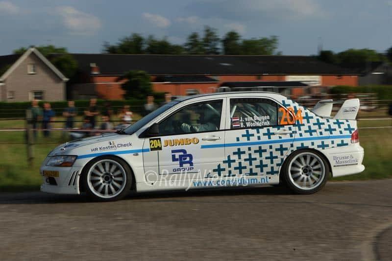 Jeroen van Beugen & Bart Woolderink - Mitsubishi Lancer Evo VII - Jumbo Short Rally 2017