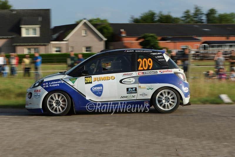 Rick Lubberding & Mark Kuipers - Opel Adam - Jumbo Short Rally