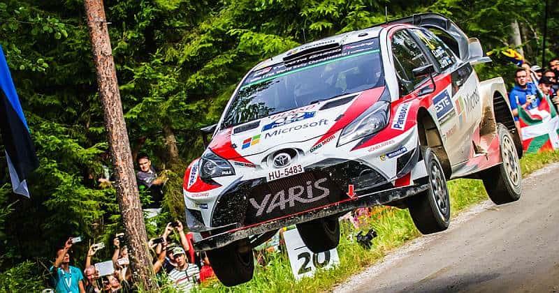 Esapekka Lappi - Toyota Yaris WRC - Neste Finland Rally 2017