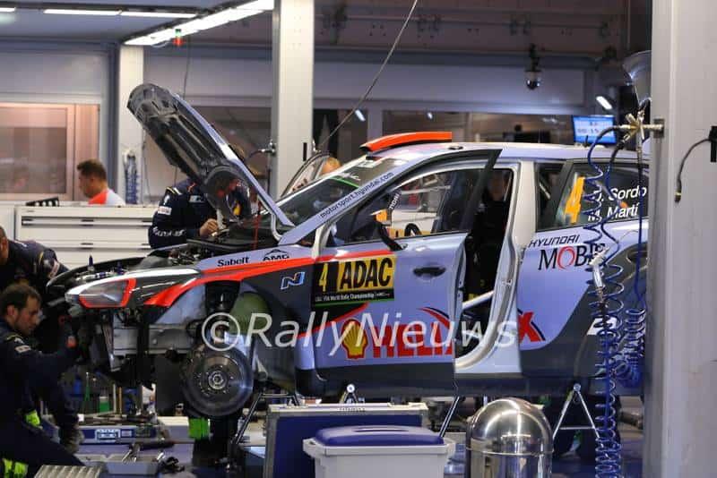 Hyundai i20 WRC - ADAC Rallye Deutschland 2016