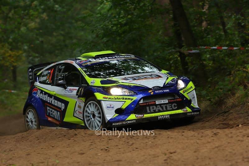 Dennis Kuipers & Robin Buysmans - Ford Fiesta RS WRC - Hellendoornrally 2016
