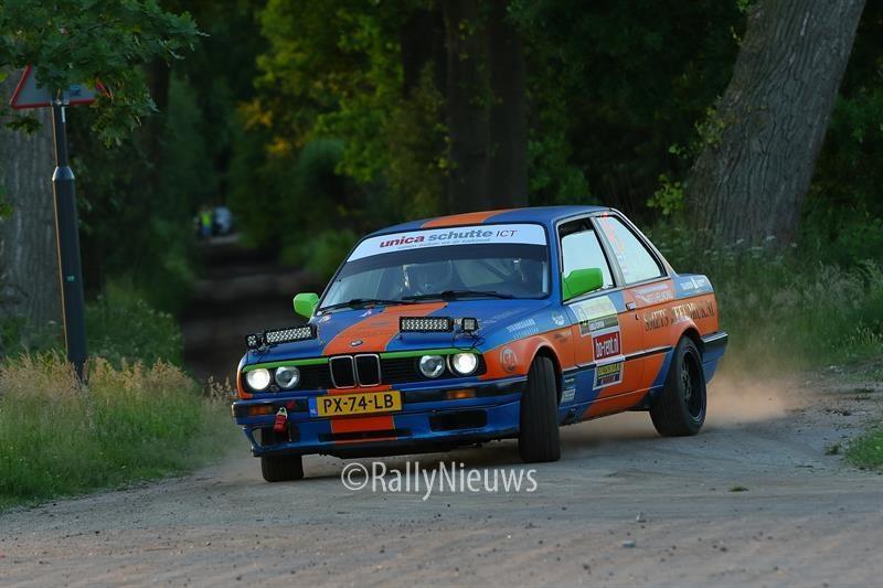 Peter Smets & Nick Vesters - BMW 325i Challenge - ELE Rally 2017