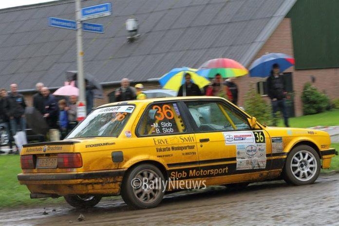 Bas Slob & Marieke Slob - BMW 325i - Hellendoornrally 2017