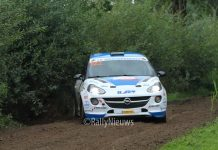 Rick Lubberding & Mark Kuipers - Opel Adam - Hellendoorn Short Rally 2017