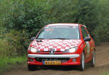Wim Stevens & Joyce Ruiter - Peugeot 206 RC - Hellendoorn Short Rally 2017