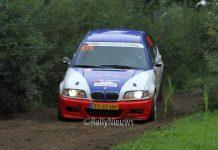 Wim Muilwijk & Nadia Muilwijk - BMW M3 - Hellendoorn Short Rally 2017