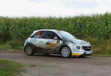 Timo van der Marel & Rebecca van der Marel - Opel Adam R2 - Hellendoornrally 2017