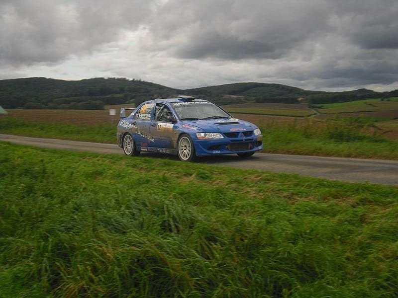 Ernst Kranenburg & Peter van Teunenbroek- Mitsubishi Lancer Evo VIII - ADAC Rallye Niedersachsen