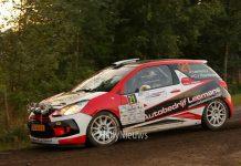 Roald Leemans & Christaan Paul van Waardenburg - Citroën DS3 R3T - Hellendoorn Rally 2017