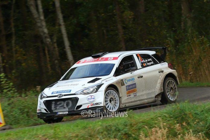 Bob de Jong & Bjorn Degandt - Hyundai i20 R5 - Twente Rally 2017