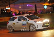 Roald Leemans & Christiaan Paul van Waardenburg - Citroën DS3 R3T - Twente Rally 2017