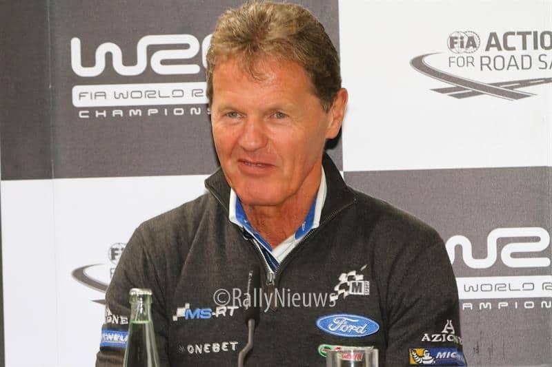 Malcolm Wilson - ADAC Rallye Deutschland 2017