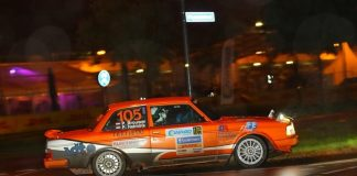 Pierre Brouwer & Paul Helmink - Volvo 240 Turbo - Youngtimer Twnete Rally 2017