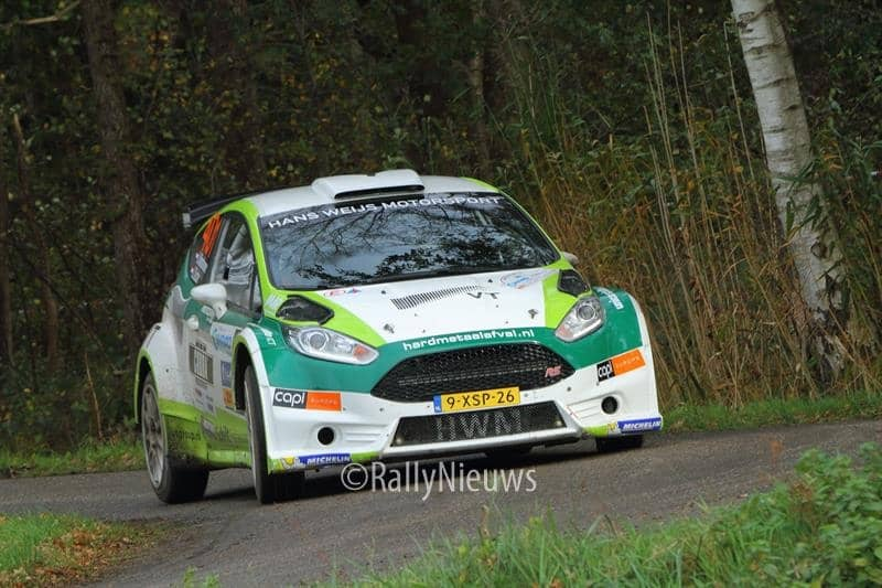 Janjur Monshouwer & Jeroen Docter - Ford Fiesta R5 - Twente Short Rally 2017