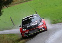 Vincent Verschueren & Veronique Hostens - Skoda Fabia R5 - East Belgium Rally 2017