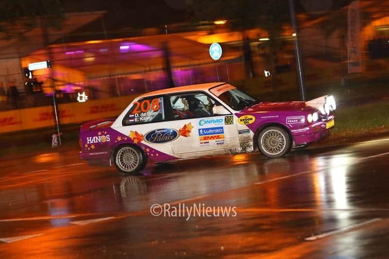 Dirk de Boer & Egbert Kamp - BMW 325i - Historic Twente Rally 2017