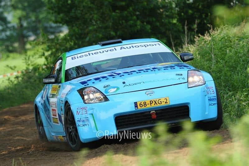 Roel van der Zanden & Ilse van de Sande - Nissan 350Z - ELE Rally 2016