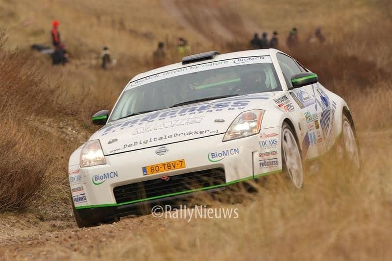 Roel van der Zanden & Paul Geerts - Nissan 350Z - Circuit Short Rally 2013