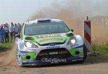 Dennis Kuipers & Robin Buysmans - Ford Fiesta WRC - Hellendoornrally 2017