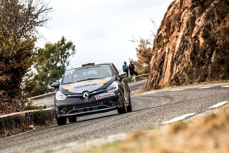 Kevin van Deijne & Hein Verschuuren - Renault Clio R3T - Rallye du Var 2017
